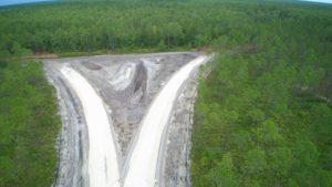 North-Florida-Mega-Industrial-Park-Rail-Spur-Progress May 2020