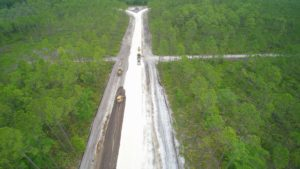 NFMIP rail spur progress May 2020